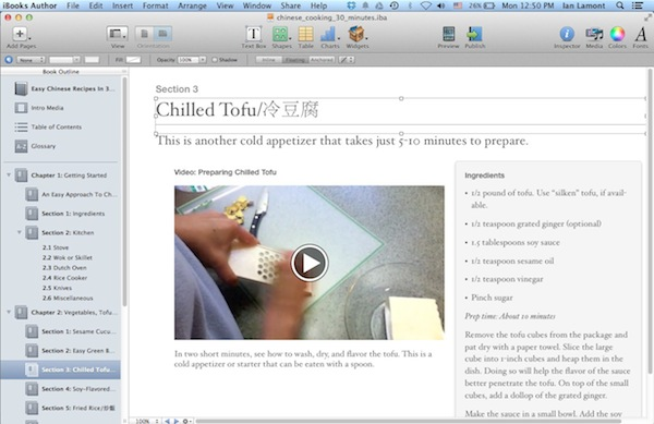 iBooks Author Review