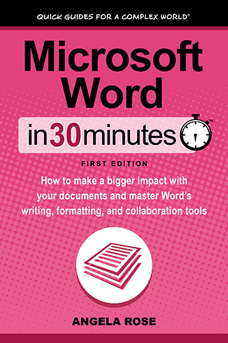Microsoft Word In 30 Minutes 500px