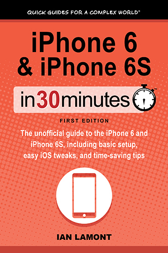 iPhone Basics In 30 Minutes cover