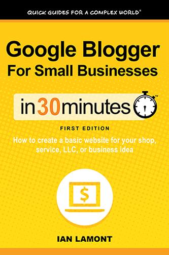 Google Blogger book
