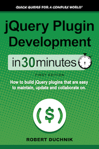 jQuery Plugin Development book