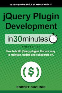 jQuery Plugin Development book