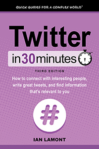 Twitter In 30 Minutes book reviewed by Night Owl Reviews