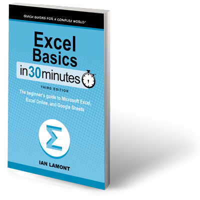 Excel Basics In 30 Minutes 3rd Edition