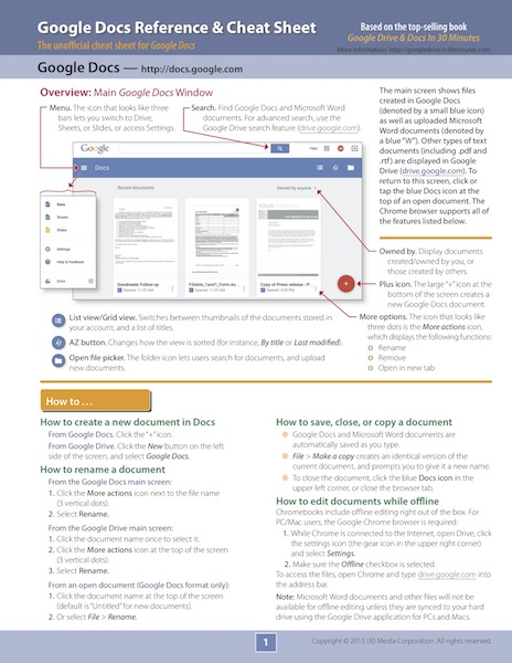 Google Docs Cheat Sheet p1 600px tall