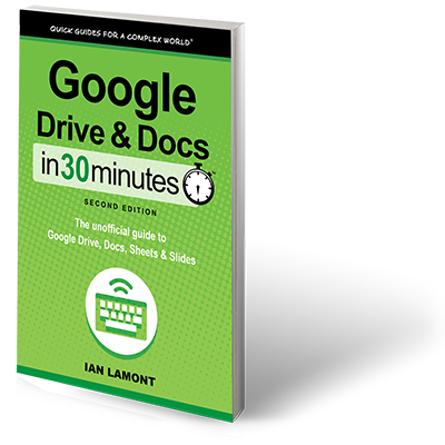 Google Drive And Docs In 30 Minutes 2nd Edition Paperback In