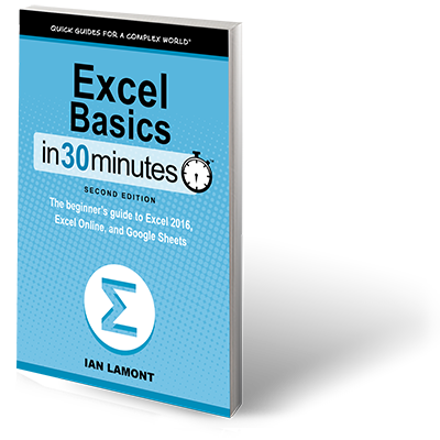 Excel Basics In 30 Minutes paperback