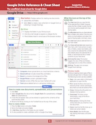 Google Drive Cheat Sheet NEW